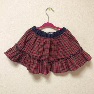 familiar - [美品]ファミリア リバーシブルスカート 90