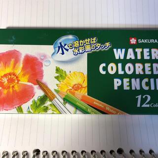 サクラクレパス(サクラクレパス)のサクラクレパス水彩色鉛筆12色(色鉛筆)