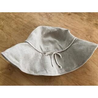 ムジルシリョウヒン(MUJI (無印良品))のMUJI 麻100% 帽子(ハット)