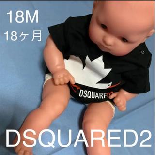 ディースクエアード(DSQUARED2)のコウノトリのデザインが可愛いTシャツ DSQUARED2 baby(Tシャツ)