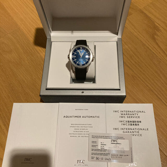 IWC(インターナショナルウォッチカンパニー)のIWC アクアタイマー ジャックイヴクストー メンズの時計(腕時計(アナログ))の商品写真
