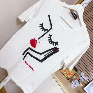 ディースクエアード(DSQUARED2)のディースクエアード のTシャツ(Tシャツ(半袖/袖なし))