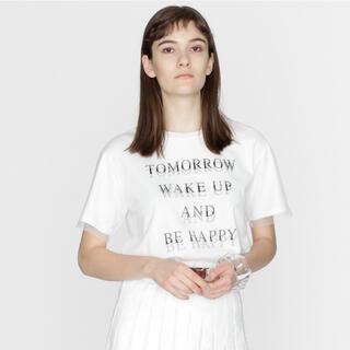 グレースコンチネンタル(GRACE CONTINENTAL)のグレースコンチネンタル  チュール Tシャツ(Tシャツ(半袖/袖なし))