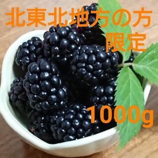 ★今月中までの値下げ★今期初物★地域別 送料込 冷凍 ブラックベリー 1000g(フルーツ)