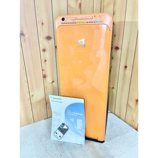 ダイキン(DAIKIN)の美品 DAIKIN ダイキン ストリーマ 加湿空気清浄機 MCK55 オレンジ(空気清浄器)