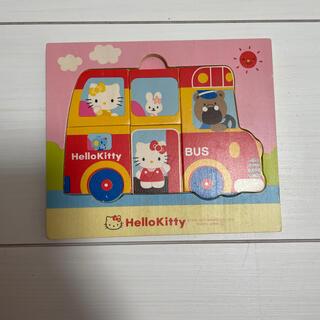 ハローキティ(ハローキティ)のキティ♡はじめて木製パズル(知育玩具)