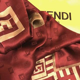 FENDI - 極美 フェンディ シルクスカーフ希少カラーSpecial of Special