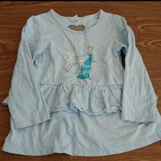アナップキッズ(ANAP Kids)のANAP ディズニー エルサ トップス サイズ120(Tシャツ/カットソー)
