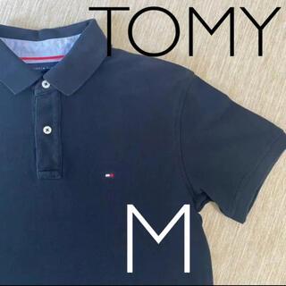 トミー(TOMMY)の【TOMY】ポロシャツ ブラック(ポロシャツ)