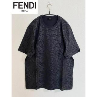 フェンディ(FENDI)の21SS【新品】FENDI フェンディ FFロゴ オーバーサイズ Tシャツ(Tシャツ/カットソー(半袖/袖なし))