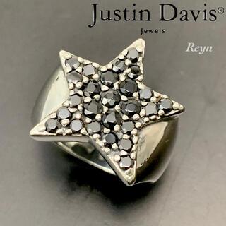 ジャスティンデイビス(Justin Davis)の[新品仕上済] ジャスティンデイビス スター シルバー リング 16号(リング(指輪))
