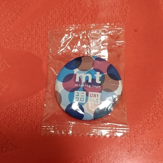 ユニクロ(UNIQLO)のユニクロ×mt 缶バッチ(ノベルティグッズ)
