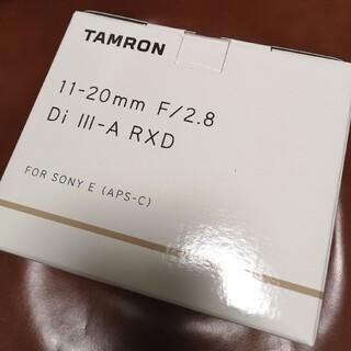 タムロン 11-20mm F/2.8 Model B060 ソニーEマウント