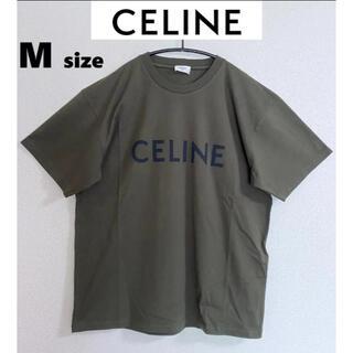 セリーヌ(celine)の21-22AW【新品】CELINE PARIS セリーヌ ロゴTシャツ M(Tシャツ/カットソー(半袖/袖なし))