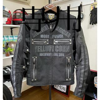 イエローコーン(YeLLOW CORN)の☆YELLOW CORN イエローコーン 3WAY メッシュジャケット 黒/M(装備/装具)