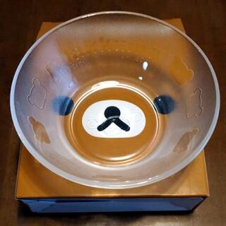 サンリオ(サンリオ)の【新品未使用】非売品 ローソン リラックマ ガラスボウル 深皿 サンエックス(食器)
