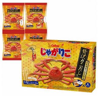 カルビー(カルビー)のじゃがりこ 贅沢カニだし味(菓子/デザート)