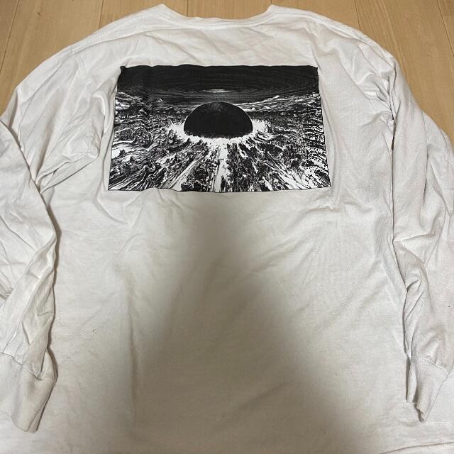 Supreme(シュプリーム)のsupreme akira ロンT ホワイト L メンズのトップス(Tシャツ/カットソー(七分/長袖))の商品写真