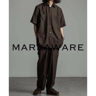 MARKAWEAR - MARKAWARE WOOL TROPICAL SHIRT定価3.2万