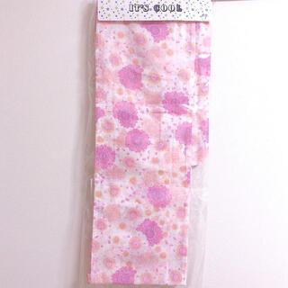 夏 浴衣 ピンク 可愛い 花柄 着物 新品未使用(浴衣)