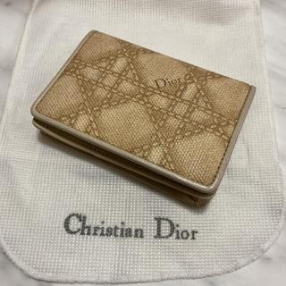 Christian Dior - 【新品】Dior ディオール カナージュ 名刺入れ