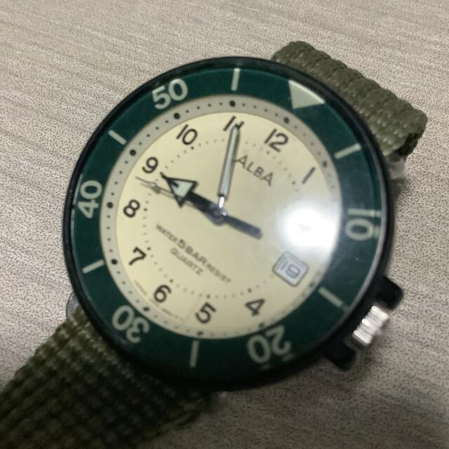 ALBA(アルバ)の腕時計 ALBA クォーツ water register 5BAR メンズの時計(腕時計(アナログ))の商品写真