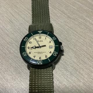 腕時計 ALBA クォーツ water register 5BAR