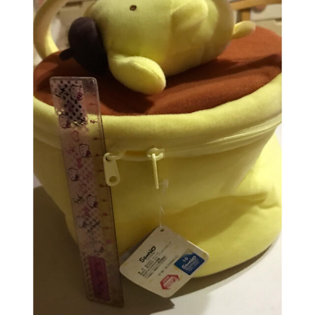 ポムポムプリン(ポムポムプリン)のプリンちゃん エンタメ/ホビーのおもちゃ/ぬいぐるみ(キャラクターグッズ)の商品写真
