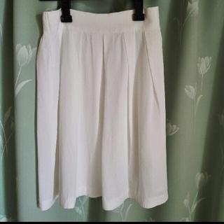 テチチ(Techichi)のテチチ 白 スカート M(ひざ丈スカート)