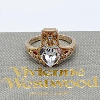 ヴィヴィアンウエストウッド(Vivienne Westwood)の【新品 保存袋付き】ヴィヴィアン 指輪 リング ピンクゴールド ハートリング(リング(指輪))