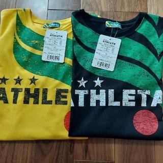 アスレタ(ATHLETA)のアスレタ  Tシャツ  2点セット  M(Tシャツ/カットソー(半袖/袖なし))