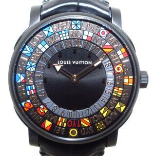 ルイヴィトン(LOUIS VUITTON)のヴィトン 腕時計美品  Q5D250 メンズ(その他)