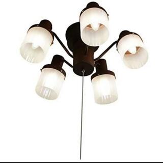 アイリスオーヤマ(アイリスオーヤマ)のアイリスプラザ アンティークシャンデリア ブラウン CC-CH5-01-BR(天井照明)