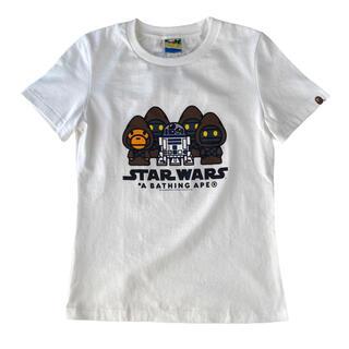 アベイシングエイプ(A BATHING APE)のA BATHING APE × STAR WARS コラボ Tシャツ(Tシャツ(半袖/袖なし))