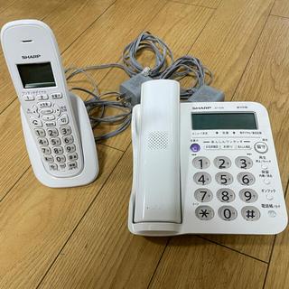 シャープ(SHARP)の電話器 コードレス JD-G56(その他)
