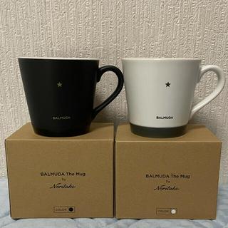 BALMUDA - バルミューダ店舗限定 「ノリタケ」マグカップ ホワイト&ブラック 新品未使用品