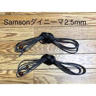 ウーピースリング ダイニーマSamson2.5mm強度730kg DDハンモック(テント/タープ)