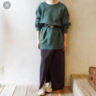 シンゾーン(Shinzone)のshinzone シンゾーン  小紋柄 ラップスカート(ロングスカート)