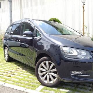 Volkswagen - 車検5年7月★VW最上級7人乗りシャラン!極上ハイライン!低走行のフル装備★