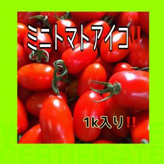 お得‼️ミニトマトアイコ1k入‼️(野菜)
