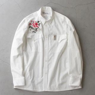 ジエダ(Jieda)の今季 DAIRIKU 2021aw 新品 刺繍シャツとマネークリップ M(シャツ)