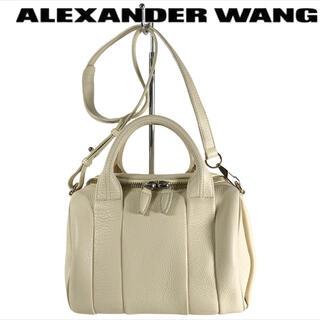 アレキサンダーワン(Alexander Wang)の使用1回超美品2wayフルレザー ALEXANDER WANG ミニハンドバッグ(ハンドバッグ)