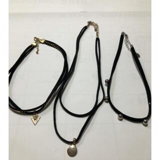 ウィゴー(WEGO)のチョーカー ネックレス 3本セット(ネックレス)