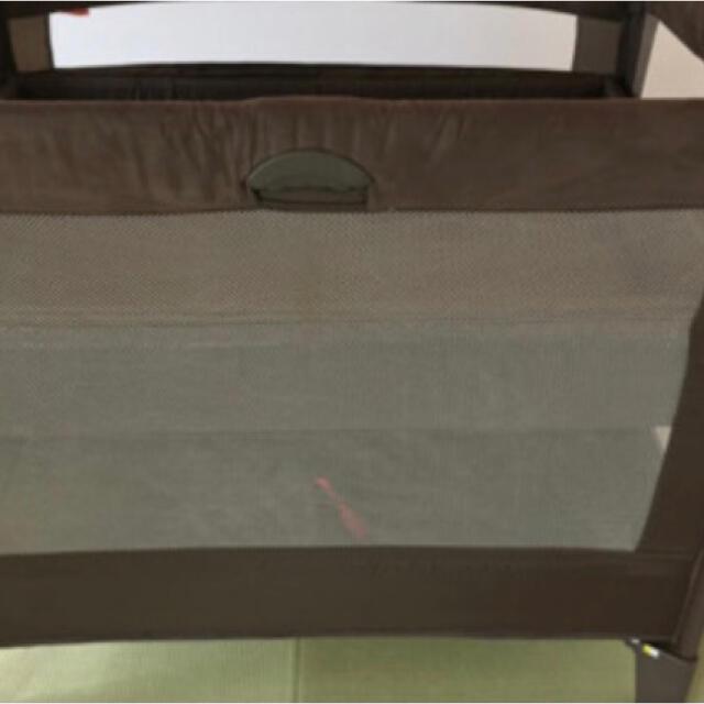 Aprica(アップリカ)のココネルエアープラス アップリカ ベビーベッド キッズ/ベビー/マタニティの寝具/家具(ベビーベッド)の商品写真