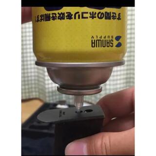 ガスガン エアダスター 変換アダプター ガスガン用ガス ノズル エアガン(その他)