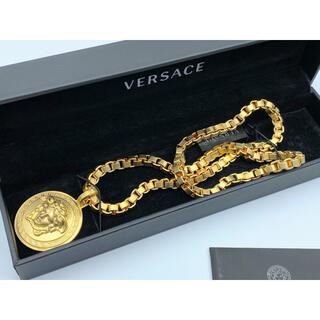 Gianni Versace - ◆激レア◆ヴェルサーチ◆ネックレス◆重厚感◆メンズ◆ゴールドカラー◆金◆メタル