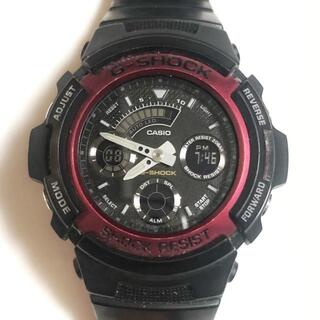 カシオ(CASIO)のカシオ 腕時計 G-SHOCK AW-591 メンズ 黒(その他)