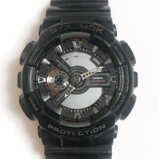 カシオ(CASIO)のカシオ 腕時計 G-SHOCK GA-110 メンズ 黒(その他)