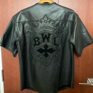 ビルウォールレザー(BILL WALL LEATHER)のBILL WALL LEATHER ベースボールシャツ(レザージャケット)