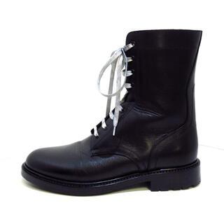 セリーヌ(celine)のセリーヌ ブーツ 42 メンズ美品  黒(ブーツ)